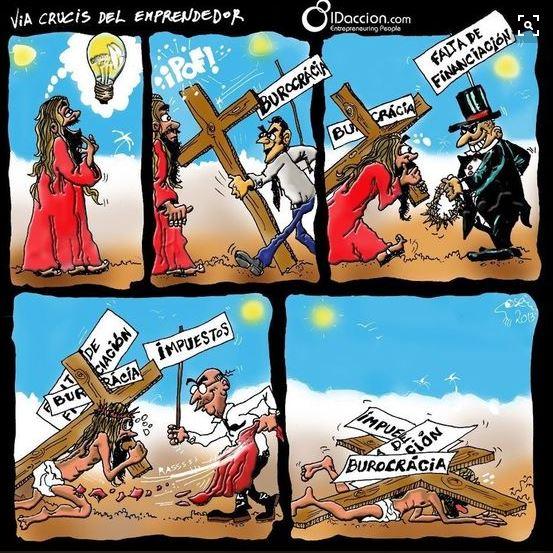 Via Crucis emprendedor