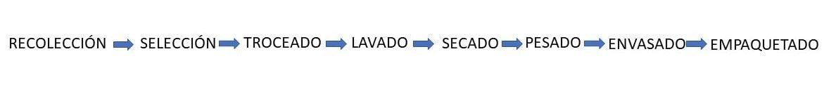 proceso general iv gama