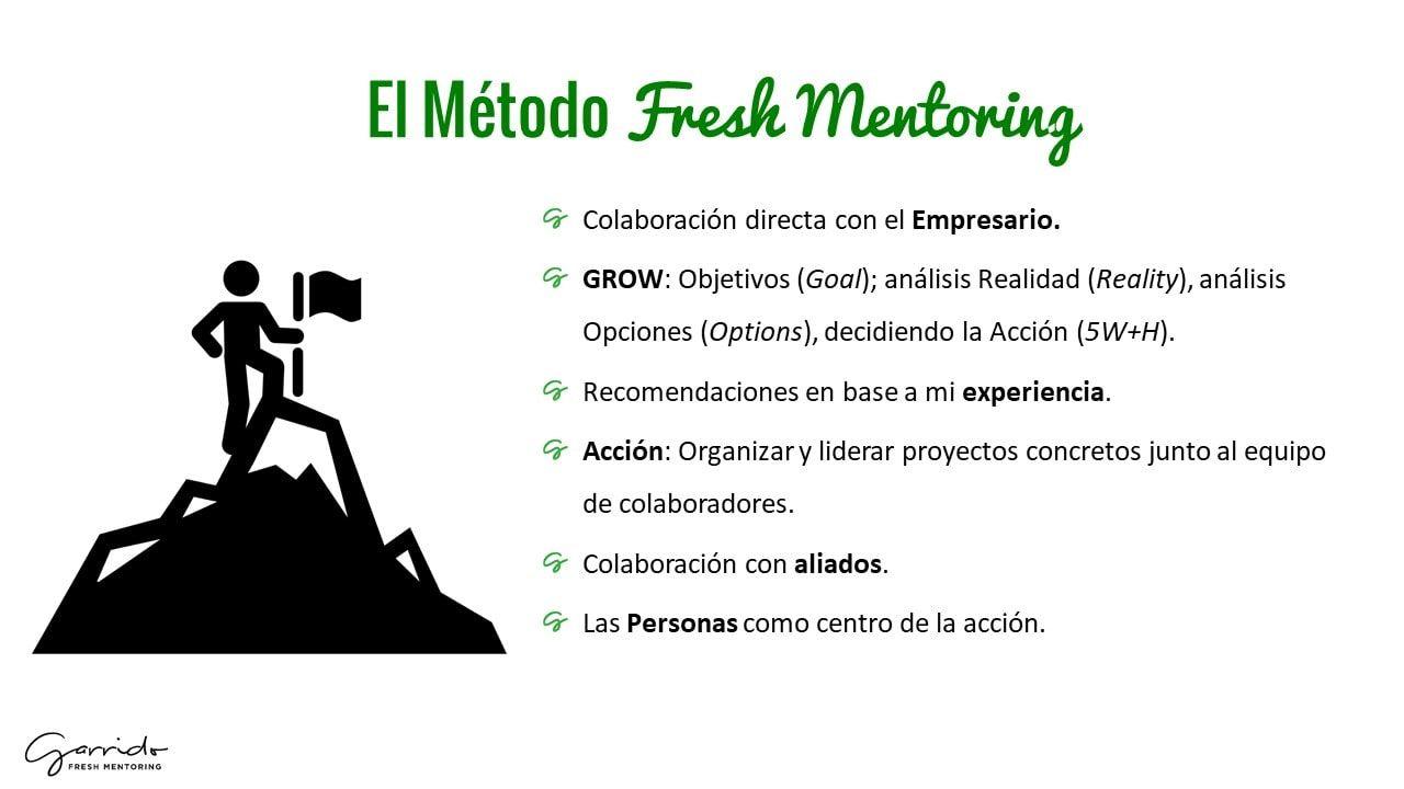 metodo fresh mentoring